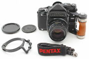 [mint W/ Grip And Strap] Pentax 6x7 67 Ttl Mirror Up Camera 105mm Lens From Japan
