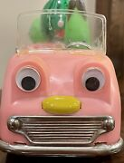 Vtg 1960s Bandai Battery Operated Vegetable Toy Delivery Truck