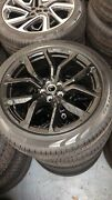 22andrdquo Genuine Range Rover Sport Svr Wheels And Continental Tyres Delivery Miles