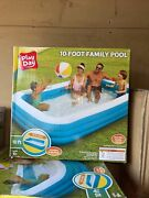 Play Day Inflatable 10 Ft Swimming Above Ground Pool - Free Shipping