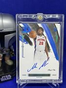 2020-21 Impeccable Rookie Signature One Of One 1/1 Isaiah Stewart Ra-ste Pistons