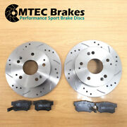 Toyota Mr2 1.8 Vvti Zzw30 04 / 00-12/06 Frein Arriandegravere Disques And Mtec Luxe Pads