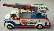 Vintage Lumar/marx Us Mobile Guided Missile Launcher Truck
