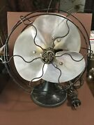 Antique General Electric Three Blade Fan/working Condtion