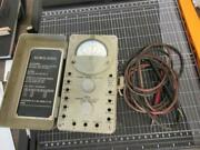 Vintage U.s. Army Signal Corps 1960s Multimeter Ts-297/u With Both Leads