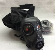 Avon Fm12 Gas Mask Respirator. New. Size 2. With Filter And Bag.