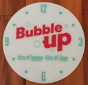 New 14-3/8 Bubble Up Round Replacement Face For Pam Clock