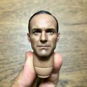 Hot Toys 1/6 Figure Mms189 The Avengers Agent Phil Coulson Head Sculpt