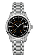 Brand New Hamilton Men's Railroad Black Dial Stainless Steel Watch H40555131