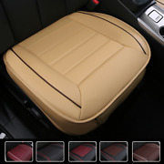 Pu Leather Front Car Seat Cover Cushion Universal Auto Suv Protector Accessories