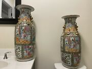 A Pair Chinese Antique Porcelain