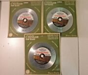 3 New Oldham 650-c-p Chrome Plated 6-1/2 Dia Plywood And Veneer Saw Blades