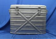 Vintage Amf Wyott Us Military Cooler With Inserts