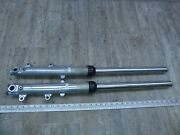 1981 Yamaha Xs650s Xs650 Y706-1 Left And Right Front Forks Suspensions Set