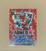 Trevor Lawrence 2021 Leaf Metal Draft Armed And Dangerous Auto /3