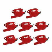 82878 Msd Pro Power Gm Ls2/ls7 Coils, 8-pack, Red