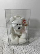 Rare Ty Beanie Baby Halo-mint With Major Errors White Vintage Collectible