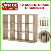 Better Homes And Gardens 12-cube Storage Organizer Rustic Gray