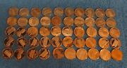 Lot Of 50-1979-s Type 2 Clear S Proof Lincoln Cents. 1 Roll.
