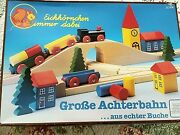 Vintage Wooden Train Set Made In Germany-