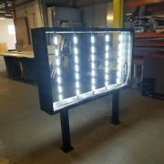 Double Sided Storage Led Light Box Signs 36and039and039x60and039and039x10and039and039
