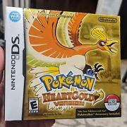 Pokemon Heartgold Version Brand New Sealed Us Version Authentic Nintendo Ds 3ds