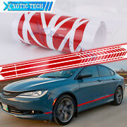 Truck Auto Accessories Red Side Body Door Decal Sticker For Chrysler 200 300