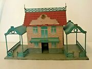Fv Toy Old Station In Sheet Metal - For Train Electrical Scale/ladder 0