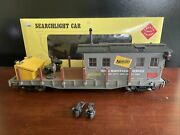 Vintage Aristo Craft G Scale Maintenance Of Way Search Light Car 46365 Nos