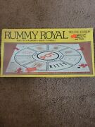 Vtg Sealed New 1981 Whitman Rummy Royal Deluxe Edition