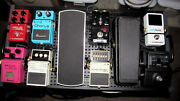 Guitar Pedal Board - With 10 Effects Pedals