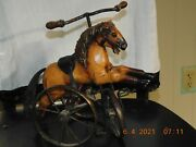 Antique Horse Tricycle Toy - 10 Discount Offer For Watchers
