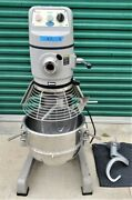 Globe Sp30 30 Qt Commercial Food Planetary Mixer W Bowl And 2 Attachments Bakery