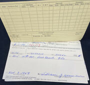 1966 Billy Herman Signed Life Insurance Policy Boston Red Sox Hof Rookie 10x As