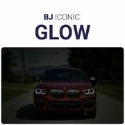 Bj Iconic Glow - For Bmw X4 G02 Glowing Car Kidneys Ambient Lighting