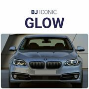 Bj Iconic Glow - For Bmw 5 F10/f11/f18/m5 Facelift/lci Glowing Kidney 2014-17