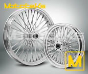 Fat Spoke Wheel 21x3.5 And 16x3.5 52 Dna Harley Softail Fatboy Slim Deluxe