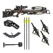 Tenpoint Turbo M1 380 Fps Crossbow Kit With 3-pack Hme Hunting Broadheads