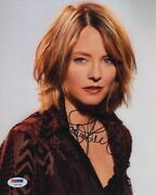 Jodie Foster Autographed Signed 8x10 Photo Certified Authentic Psa/dna Coa Aftal