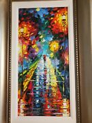 Daniel Wall Giclee On Canvas Until The Last Moment Hand Embellished/signed/