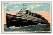 Vintage 1920's Postcard The Great Ship Seeandbee Buffalo And Cleveland Great Lakes