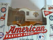 Pittsburg Pirates Die-cast Metal Bank Car Ertl New 1993 Nice With C.o.a.baseball