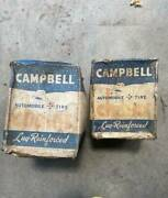 Two Campbell Vintage Automobile Tire Chains No 1840 Type Rp