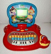 Vtech Disney Little Einsteins Blast-off Learning Laptop Letters Numbers Music