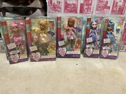 Complete Set Ever After High Birthday Ball Dolls-new
