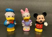 Mickey Mouse Donald Daisy Duck Fisher Price Little People Figures