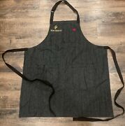 Hedley And Bennet All Day Crossback Apron - Abalone W/ Remy Martin Embroidery