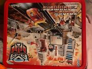 Aladdin Toy Hasbro Lunch Box Transformer Vintage Collectible 1986andnbsp