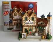 Lemax Signature Collection Two Sisters Gourmet Bakery 2012 Christmas Village A+