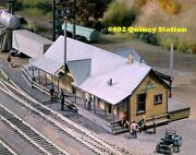 Campbell Scale Models 402 Ho Quincy Station